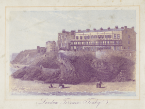 Lexden Terrace, Tenby, the building of which was commissioned by John Rees