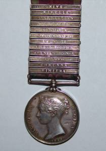 Craig's Medal (reproduced courtesy of Janice Jackson)